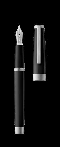 Stylo plume SLOOP noir/palladium