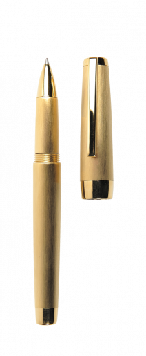 stylo-plume-clipper-or-poli-ouvert