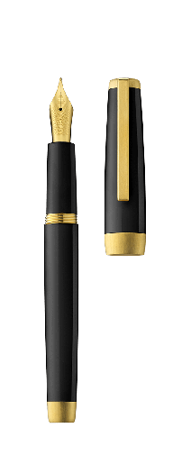 Stylo plume SLOOP noir/or