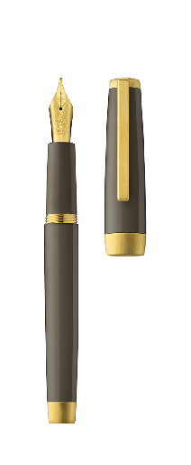Fountain pen SLOOP taupe/gold