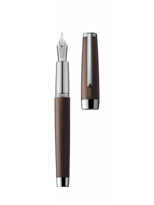 Fountain pen CARAVELLE ebony/palladium