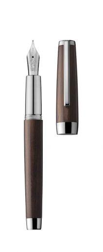 Fountain pen CARAVELLE ebony/palladium
