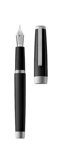 Fountain pen SLOOP black/palladium