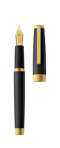 Stylo plume SLOOP noir/or
