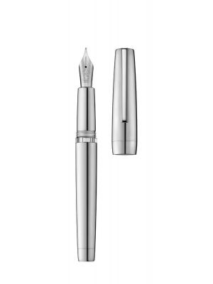 Fountain pen CLIPPER palladium/polished (body filling)