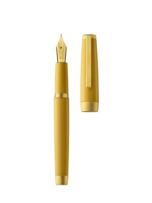 Fountain pen SLOOP amber/gold